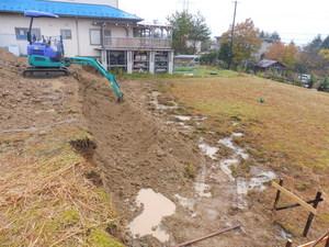後藤邸擁壁掘削.JPG